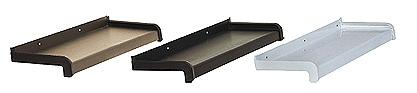 hliníkové parapetné dosky - hrúbka 1mm